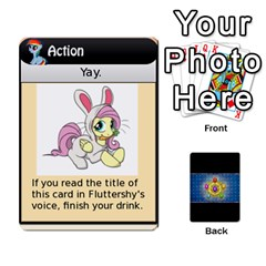 Pony Drinking Deck 3 By Gonzo Anon   Playing Cards 54 Designs   P5ldxxe1uuh8   Www Artscow Com Front - Club9