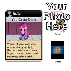 Jack Pony Drinking Deck 3 By Gonzo Anon   Playing Cards 54 Designs   P5ldxxe1uuh8   Www Artscow Com Front - ClubJ