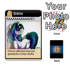 Pony Drinking Deck 3 By Gonzo Anon   Playing Cards 54 Designs   P5ldxxe1uuh8   Www Artscow Com Front - Spade9