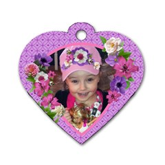 Miranda Heart Dog Tag* By Debra Macv   Dog Tag Heart (two Sides)   Yf7zlg4uk1y5   Www Artscow Com Front