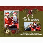 5x7 Photo Card:  Tis the Season - 5  x 7  Photo Cards