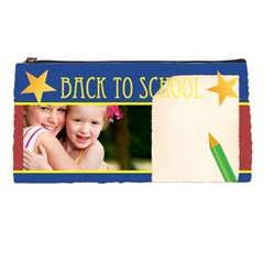 Back To School By Joely   Pencil Case   7d2iy3jokliu   Www Artscow Com Front