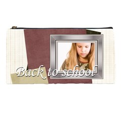Back To School By Joely   Pencil Case   Bd60euo5p7cg   Www Artscow Com Front