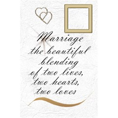 Our Wedding Planner 2012 Notebook By Deborah   5 5  X 8 5  Notebook   S303j42x0rxj   Www Artscow Com Back Cover Inside