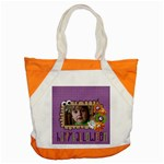 Happy Halloween/treat -Accent Tote Bag