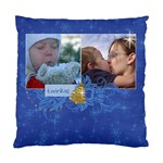 Chrismtas/snow/tree-Cushion Case (Two Sides) - Standard Cushion Case (Two Sides)