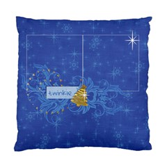 Chrismtas/snow/tree Cushion Case (two Sides) By Mikki   Standard Cushion Case (two Sides)   X124g18e3axm   Www Artscow Com Back