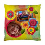 Vibrant/Artistic Flowers-Cushion Case (Two Sides)