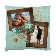 Beach/vacation Cushion Case (two Sides) By Mikki   Standard Cushion Case (two Sides)   K0t3l91ujcm7   Www Artscow Com Front