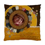 Autumn/quotes-Cushion Case (2 sides) - Standard Cushion Case (Two Sides)