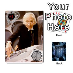 Doctor Who V2 File  By Mark Chaplin   Playing Cards 54 Designs   Prn7tzyrb9r9   Www Artscow Com Front - Spade2