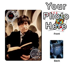 Doctor Who V2 File  By Mark Chaplin   Playing Cards 54 Designs   Prn7tzyrb9r9   Www Artscow Com Front - Spade3