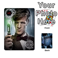 Queen Doctor Who V2 File  By Mark Chaplin   Playing Cards 54 Designs   Prn7tzyrb9r9   Www Artscow Com Front - SpadeQ