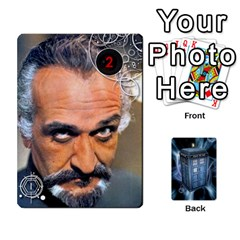 Ace Doctor Who V2 File  By Mark Chaplin   Playing Cards 54 Designs   Prn7tzyrb9r9   Www Artscow Com Front - SpadeA