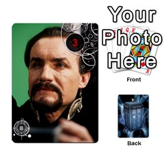 Doctor Who V2 File  By Mark Chaplin   Playing Cards 54 Designs   Prn7tzyrb9r9   Www Artscow Com Front - Heart3