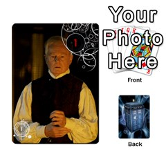 Doctor Who V2 File  By Mark Chaplin   Playing Cards 54 Designs   Prn7tzyrb9r9   Www Artscow Com Front - Heart5