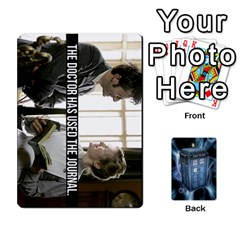 Doctor Who V2 File  By Mark Chaplin   Playing Cards 54 Designs   Prn7tzyrb9r9   Www Artscow Com Front - Heart8