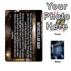 Doctor Who V2 File  By Mark Chaplin   Playing Cards 54 Designs   Prn7tzyrb9r9   Www Artscow Com Front - Heart9