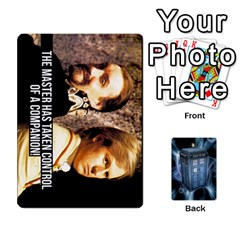 Doctor Who V2 File  By Mark Chaplin   Playing Cards 54 Designs   Prn7tzyrb9r9   Www Artscow Com Front - Diamond3