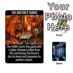 Doctor Who V2 File  By Mark Chaplin   Playing Cards 54 Designs   Prn7tzyrb9r9   Www Artscow Com Front - Diamond4