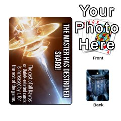 Doctor Who V2 File  By Mark Chaplin   Playing Cards 54 Designs   Prn7tzyrb9r9   Www Artscow Com Front - Diamond8