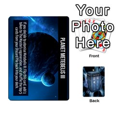 Doctor Who V2 File  By Mark Chaplin   Playing Cards 54 Designs   Prn7tzyrb9r9   Www Artscow Com Front - Diamond9