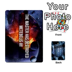 Doctor Who V2 File  By Mark Chaplin   Playing Cards 54 Designs   Prn7tzyrb9r9   Www Artscow Com Front - Diamond10