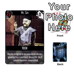 Doctor Who V2 File  By Mark Chaplin   Playing Cards 54 Designs   Prn7tzyrb9r9   Www Artscow Com Front - Club2