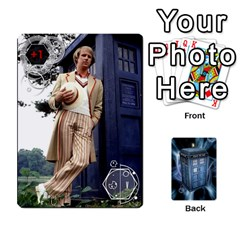 Doctor Who V2 File  By Mark Chaplin   Playing Cards 54 Designs   Prn7tzyrb9r9   Www Artscow Com Front - Spade6