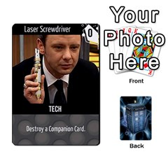 Doctor Who V2 File  By Mark Chaplin   Playing Cards 54 Designs   Prn7tzyrb9r9   Www Artscow Com Front - Club4