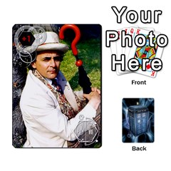 Doctor Who V2 File  By Mark Chaplin   Playing Cards 54 Designs   Prn7tzyrb9r9   Www Artscow Com Front - Spade8
