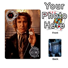 Doctor Who V2 File  By Mark Chaplin   Playing Cards 54 Designs   Prn7tzyrb9r9   Www Artscow Com Front - Spade9
