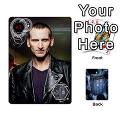 Doctor Who V2 File  By Mark Chaplin   Playing Cards 54 Designs   Prn7tzyrb9r9   Www Artscow Com Front - Spade10