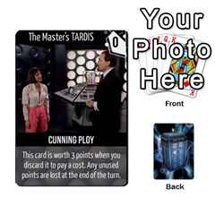 Doctor Who V2 File  By Mark Chaplin   Playing Cards 54 Designs   Lowu0r8ravv3   Www Artscow Com Front - Heart5