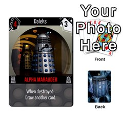 Doctor Who V2 File  By Mark Chaplin   Playing Cards 54 Designs   Lowu0r8ravv3   Www Artscow Com Front - Club2
