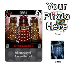 Doctor Who V2 File  By Mark Chaplin   Playing Cards 54 Designs   Lowu0r8ravv3   Www Artscow Com Front - Club4