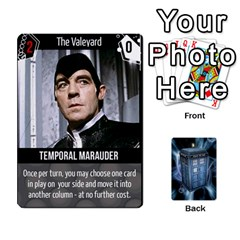 Ace Doctor Who V2 File  By Mark Chaplin   Playing Cards 54 Designs   Fu3d7ytm53dy   Www Artscow Com Front - SpadeA
