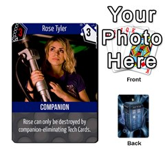 Doctor Who V2 File  By Mark Chaplin   Playing Cards 54 Designs   Fu3d7ytm53dy   Www Artscow Com Front - Heart8
