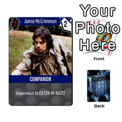 Jack Doctor Who V2 File  By Mark Chaplin   Playing Cards 54 Designs   Fu3d7ytm53dy   Www Artscow Com Front - HeartJ