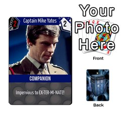 Queen Doctor Who V2 File  By Mark Chaplin   Playing Cards 54 Designs   Fu3d7ytm53dy   Www Artscow Com Front - HeartQ