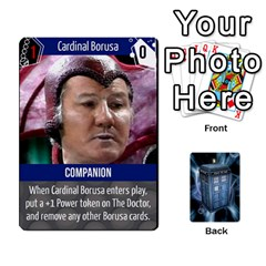 Doctor Who V2 File  By Mark Chaplin   Playing Cards 54 Designs   Fu3d7ytm53dy   Www Artscow Com Front - Diamond4