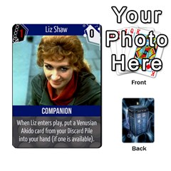 Doctor Who V2 File  By Mark Chaplin   Playing Cards 54 Designs   Fu3d7ytm53dy   Www Artscow Com Front - Diamond9