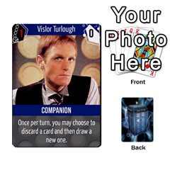 King Doctor Who V2 File  By Mark Chaplin   Playing Cards 54 Designs   Fu3d7ytm53dy   Www Artscow Com Front - DiamondK