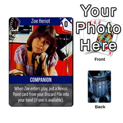 Ace Doctor Who V2 File  By Mark Chaplin   Playing Cards 54 Designs   Fu3d7ytm53dy   Www Artscow Com Front - DiamondA