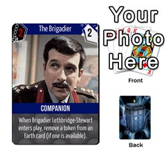 Doctor Who V2 File  By Mark Chaplin   Playing Cards 54 Designs   Fu3d7ytm53dy   Www Artscow Com Front - Club6