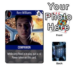 Doctor Who V2 File  By Mark Chaplin   Playing Cards 54 Designs   Fu3d7ytm53dy   Www Artscow Com Front - Joker2