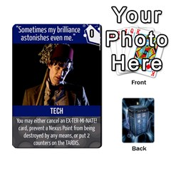 Doctor Who V2 File  By Mark Chaplin   Playing Cards 54 Designs   Fu3d7ytm53dy   Www Artscow Com Front - Spade8