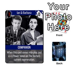 Doctor Who V2 File  By Mark Chaplin   Playing Cards 54 Designs   Vnbces35f24j   Www Artscow Com Front - Spade3