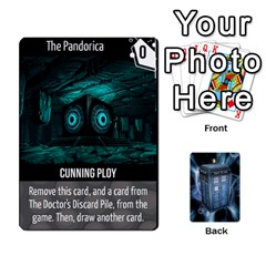 Doctor Who V2 File  By Mark Chaplin   Playing Cards 54 Designs   Vnbces35f24j   Www Artscow Com Front - Heart7