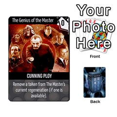 Doctor Who V2 File  By Mark Chaplin   Playing Cards 54 Designs   Vnbces35f24j   Www Artscow Com Front - Heart8